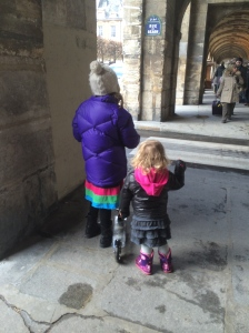 The Shorties at Place des Voges